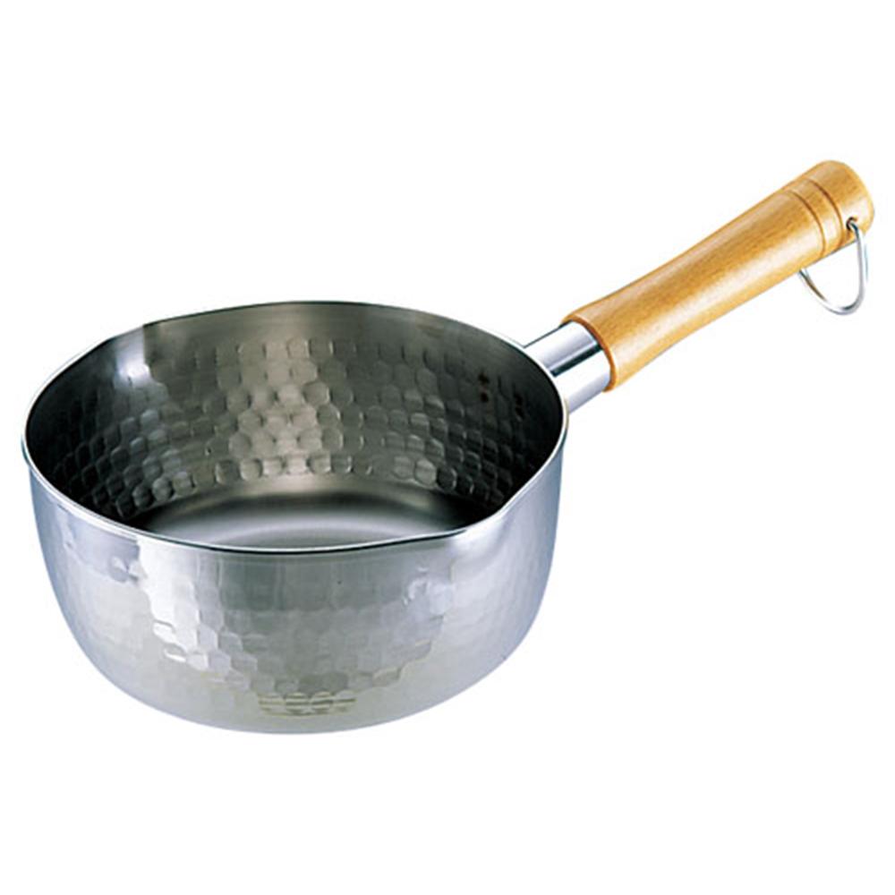SA21−0打出雪平鍋(両口) 24cm