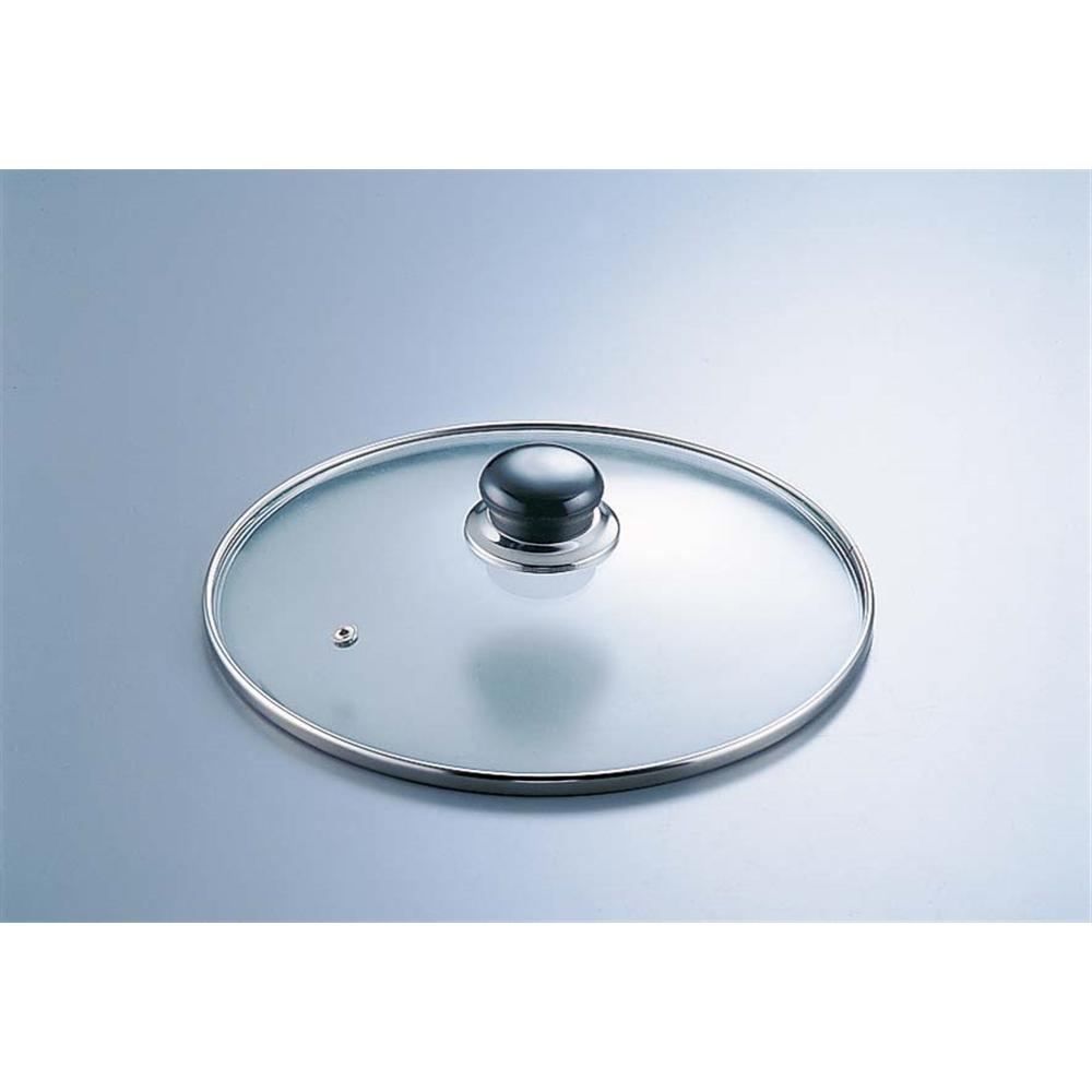 万能アルミ鍋用ガラス蓋 AJ−28F 28cm用