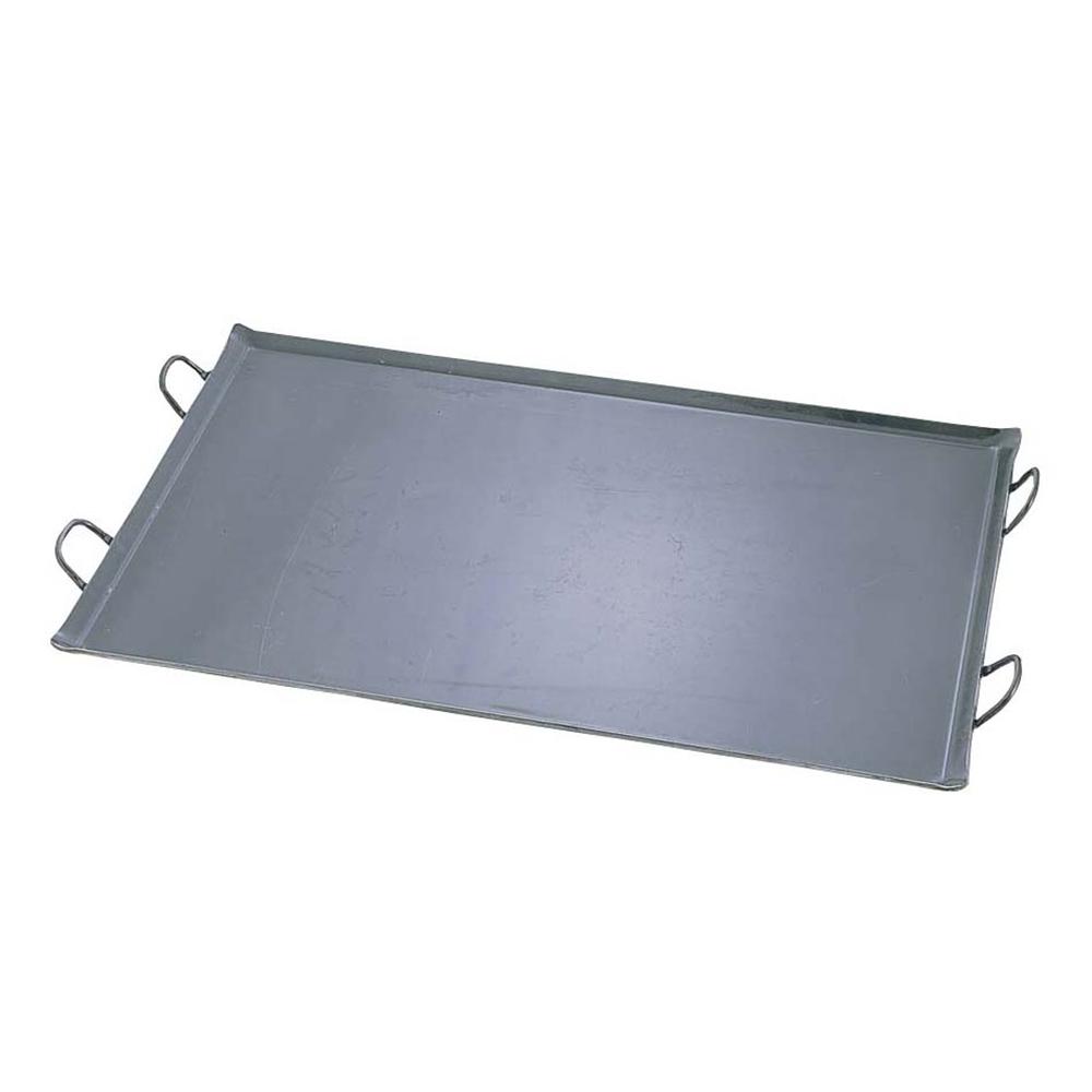 鉄 極厚プレス式 バーベキュー鉄板 大