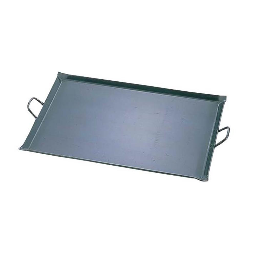 鉄 極厚プレス式 バーベキュー鉄板 小