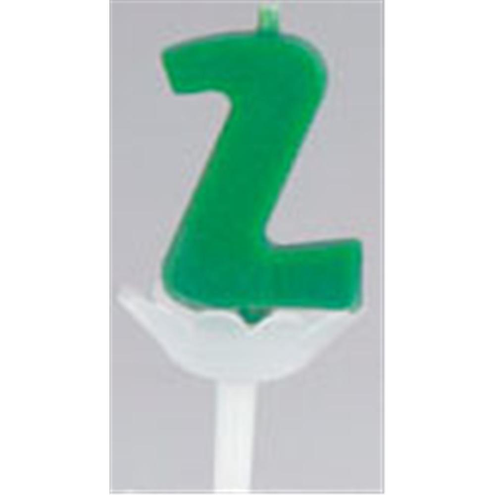 パプリデジットキャンドル 緑 2