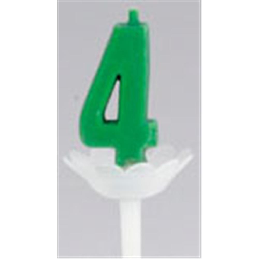 パプリデジットキャンドル 緑 4