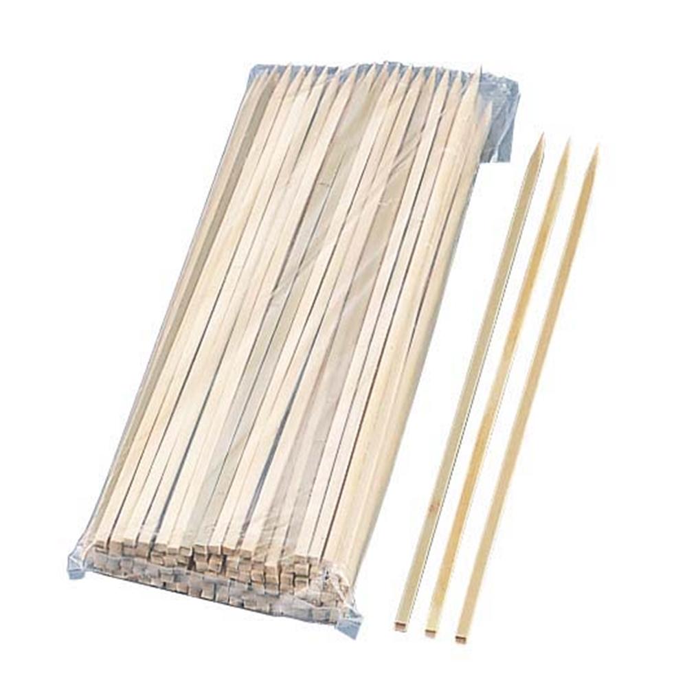 竹製 角串ロング 400mm 2715(50本入)