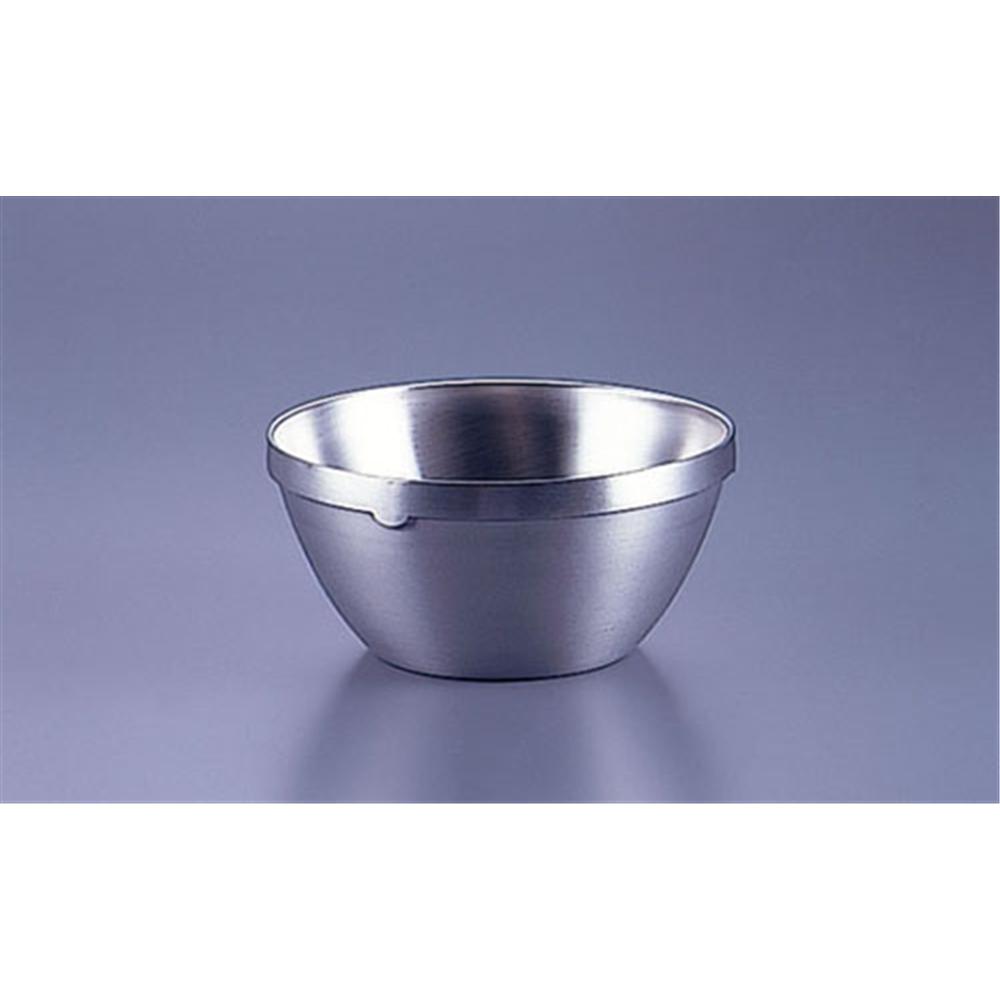 18−8二重構造給食用汁椀 中