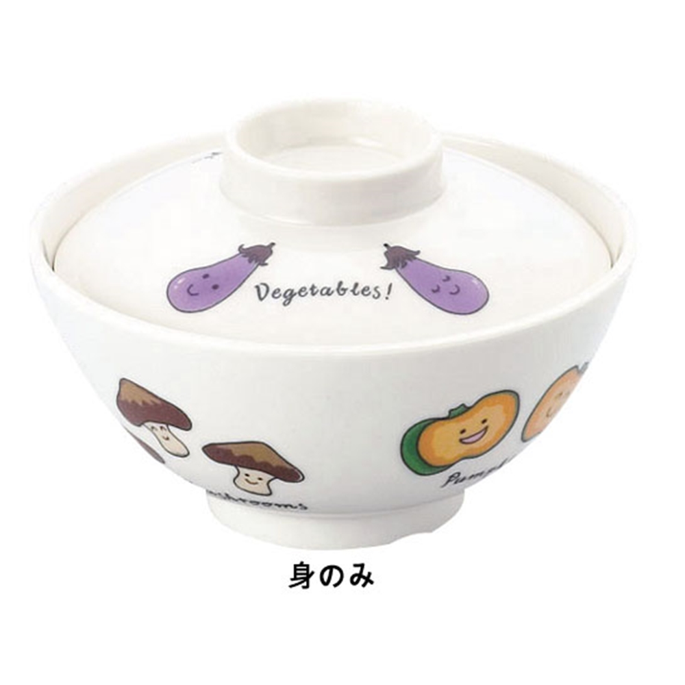 メラミンお子様食器「ベジタ村」 61−VV 椀 身