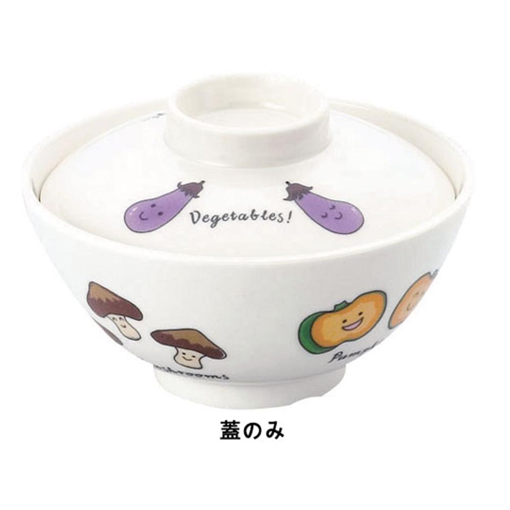 メラミンお子様食器「ベジタ村」 61−VV 椀 蓋