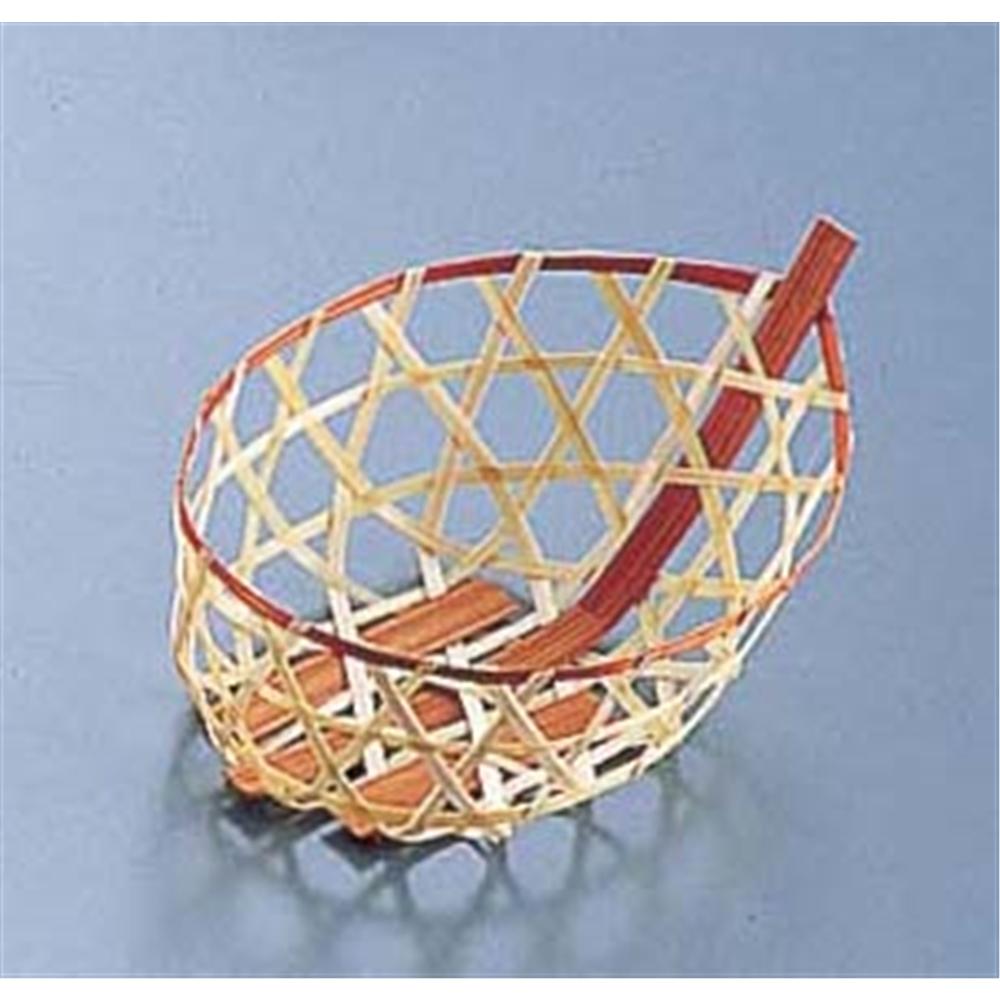 竹製 珍味籠(10個入) 3090 ミニ小舟