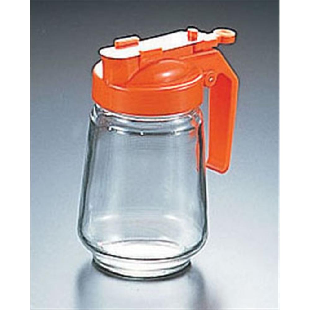 ガラス製 焼肉タレ入 250�t オレンジ
