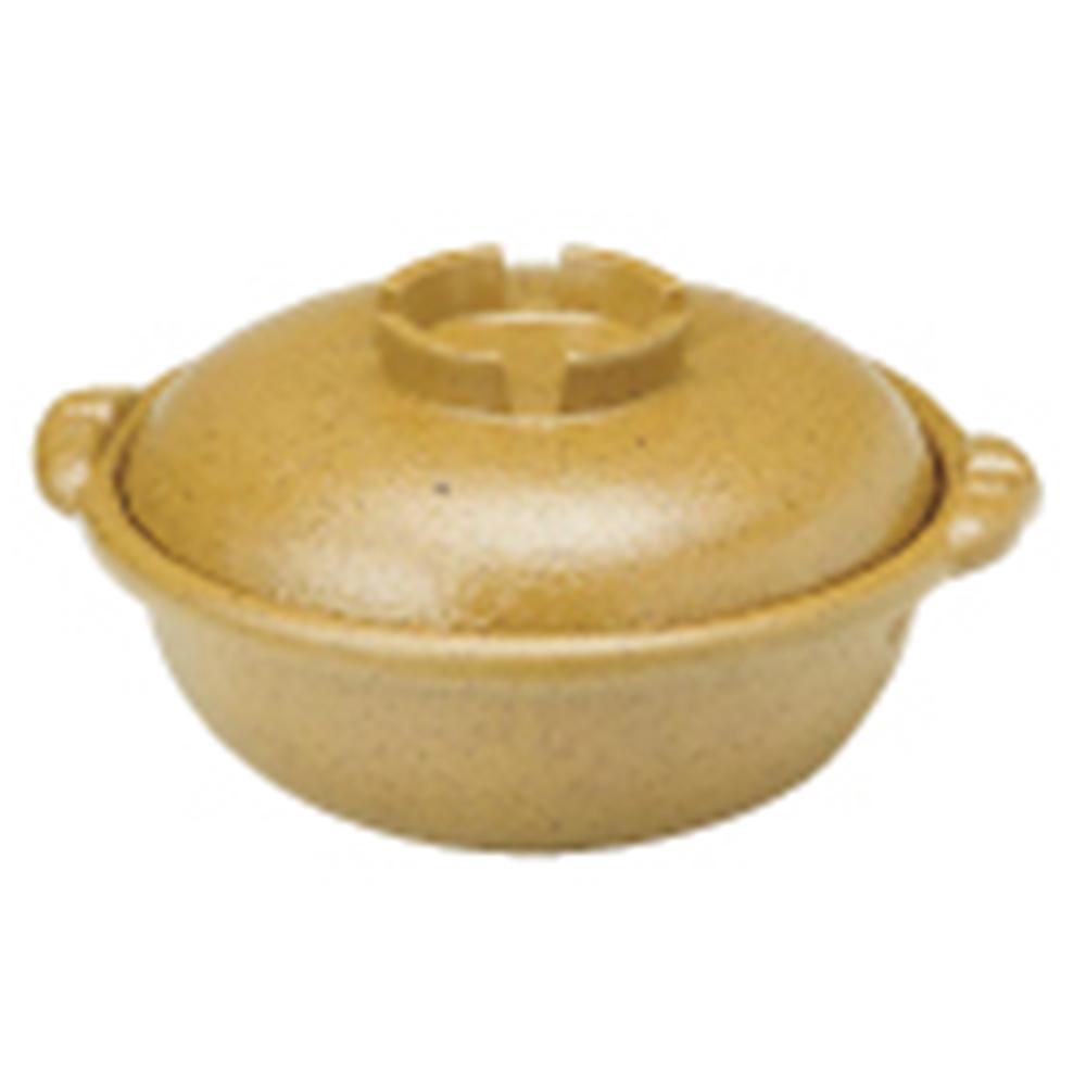 アルミ合金 黄瀬戸土鍋風鍋 24cm