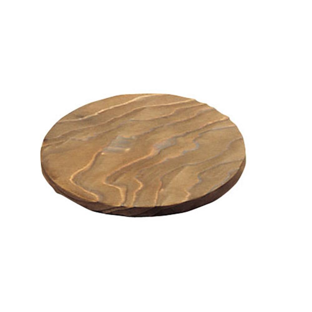 焼杉 丸敷板小 (12cm)