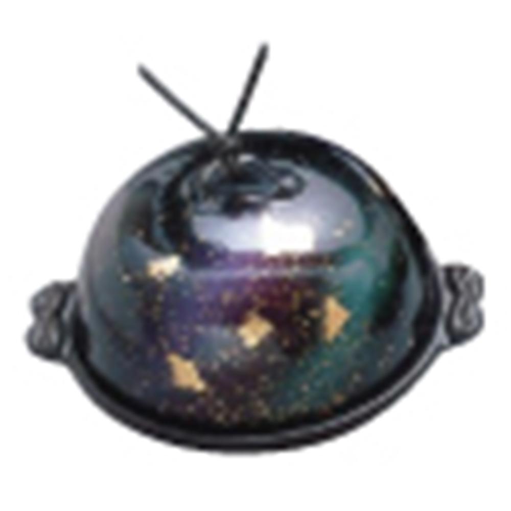 アルミ高瀬陶板鍋 七彩 中 15cm
