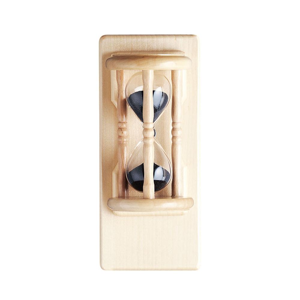 サウナ用 砂時計(壁掛け用・回転板付) 5分計