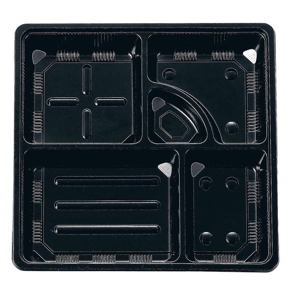 夢彩ごぜん(50枚入)TSR−BOX 80−80 中仕切�T 黒