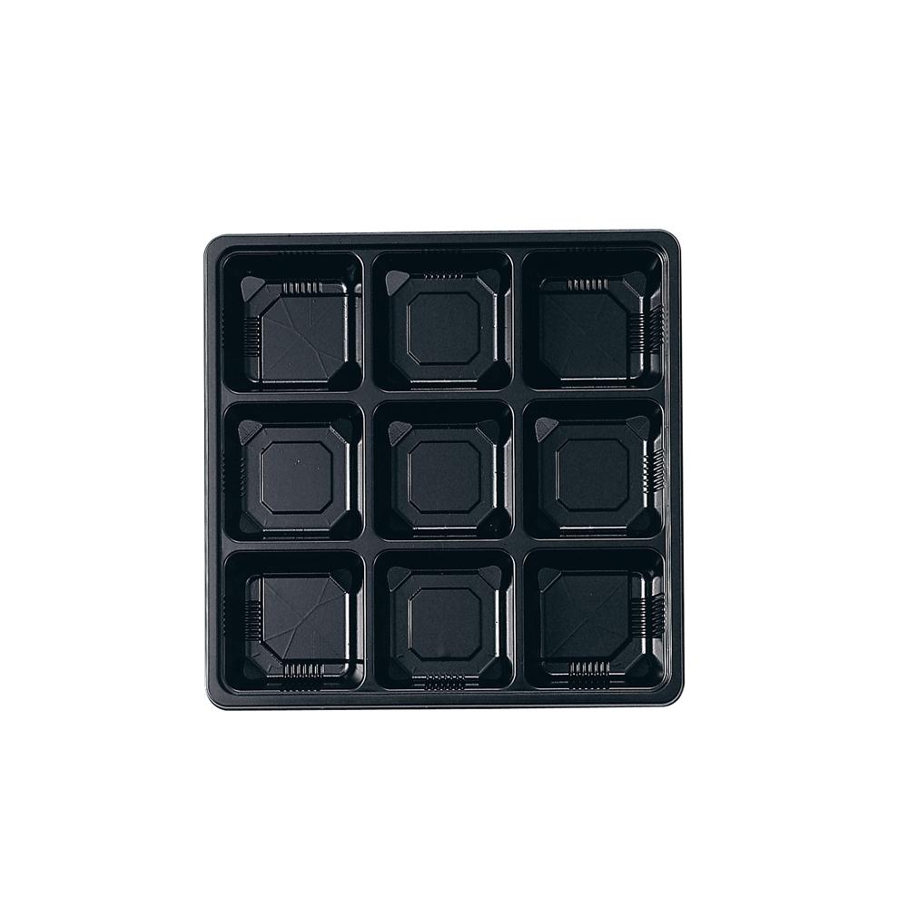 夢彩ごぜん(50枚入)TSR−BOX 80−80 中仕切�U 黒