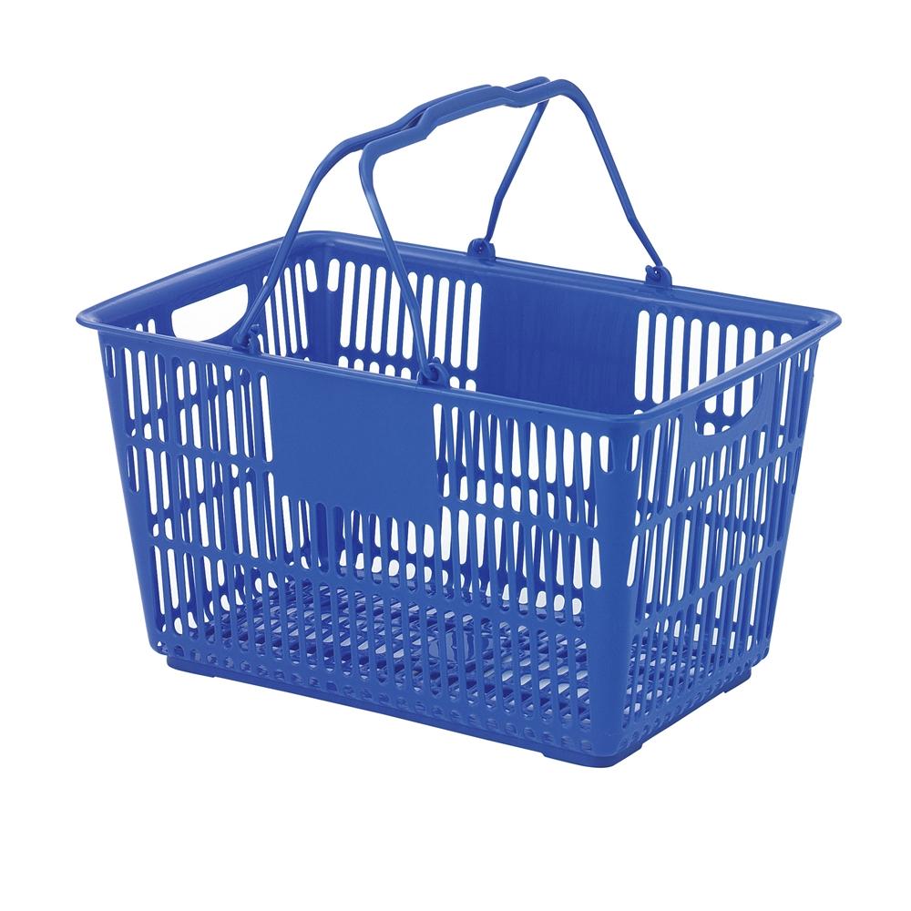 ショッピングバスケット U−31 ブルー