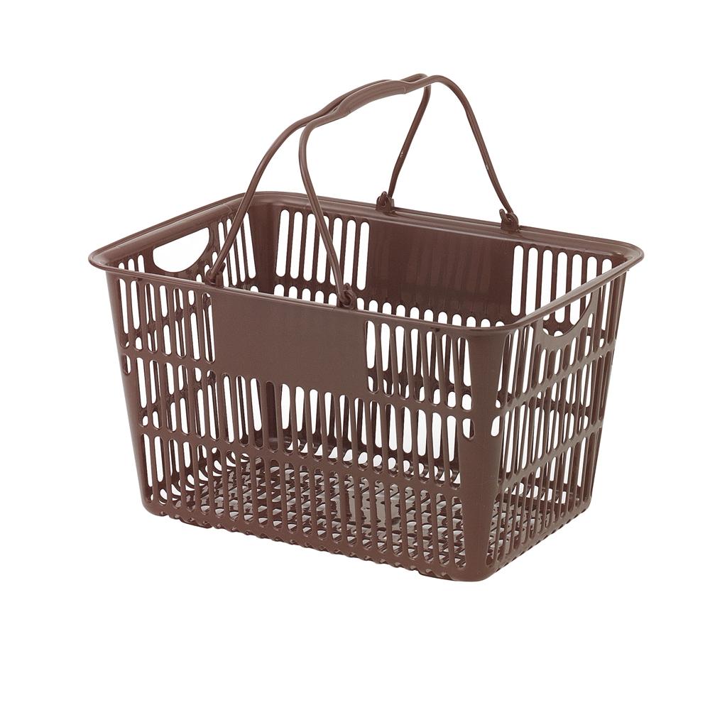 ショッピングバスケット U−28 ブラウン