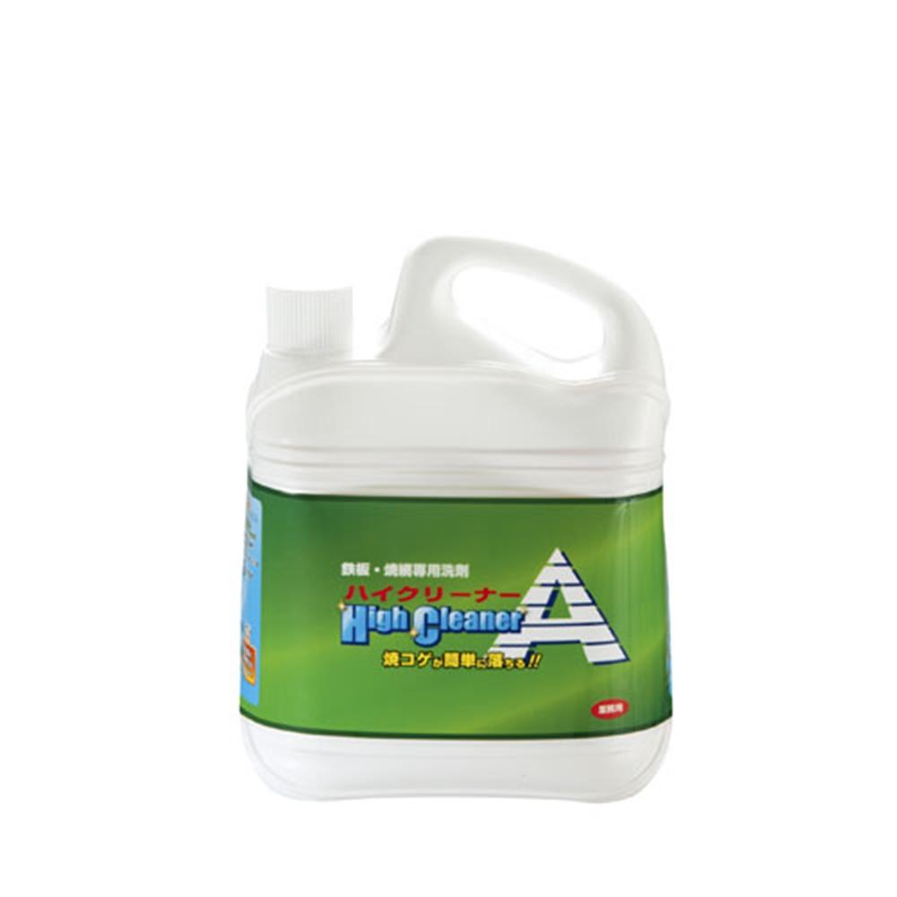 焼肉店用焼網・鉄板専用洗剤 ハイクリーナーA 4L