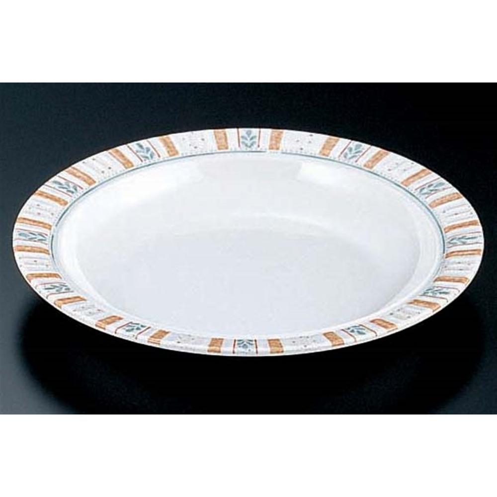 メラミン「バジル」 24cmスープ皿 BL−7810
