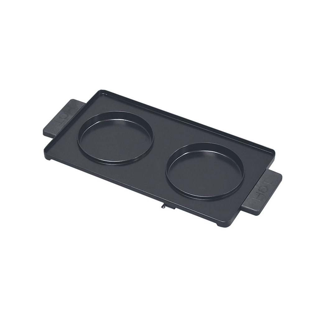 マルチホットサンドメーカー用オプション 丸型フリープレート(2枚組)