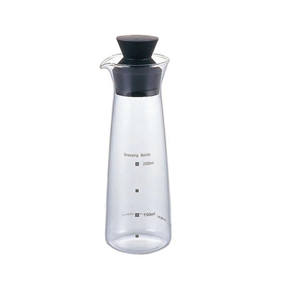 耐熱ガラス製 ドレッシングボトル KT5014−BK