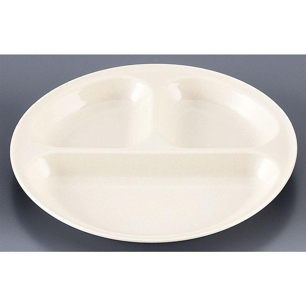 抗菌レジャー食器 丸型小分け皿 (1P)