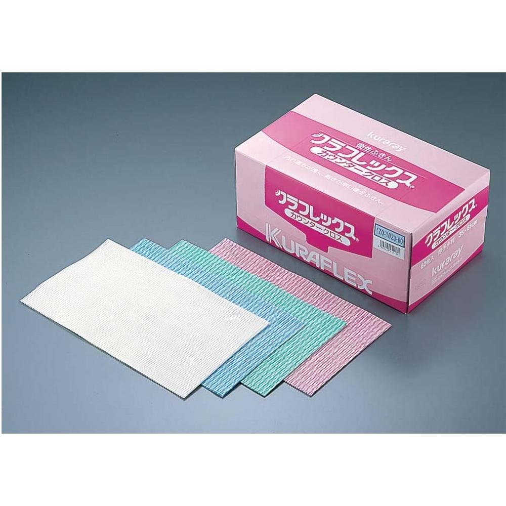 クラフレックス カウンタークロス60枚入 ZO−1021−60 ピンク