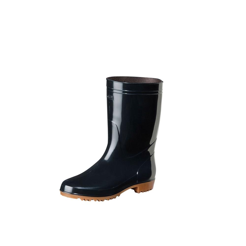 弘進 ゾナG3黒長靴(耐油性) 26.5cm