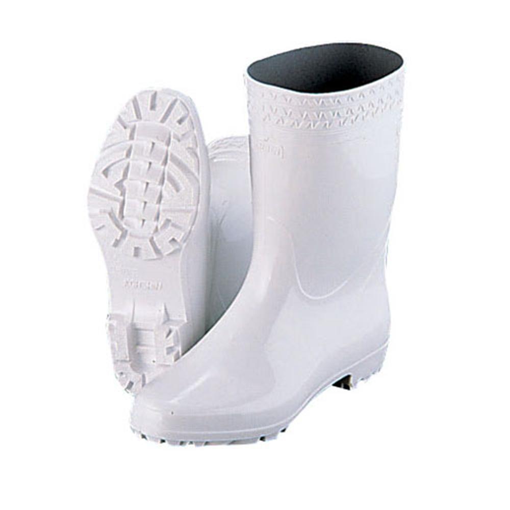 弘進 ゾナGL白長靴(耐油性)26cm