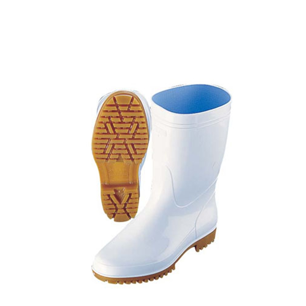 弘進 ゾナG5 白長靴(耐油性) 27cm