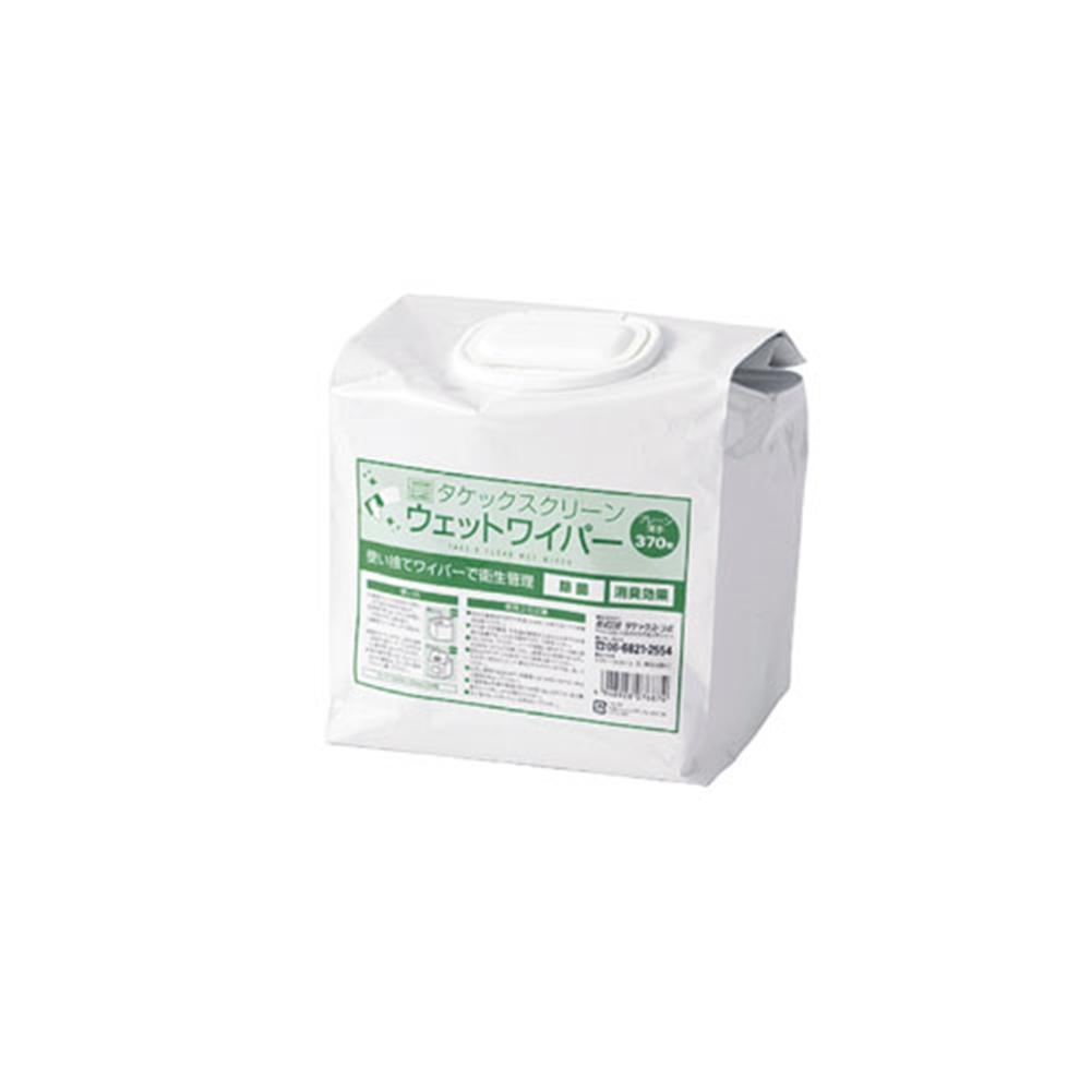 タケックス ウェットワイパー薄手 詰替用 (370枚入)