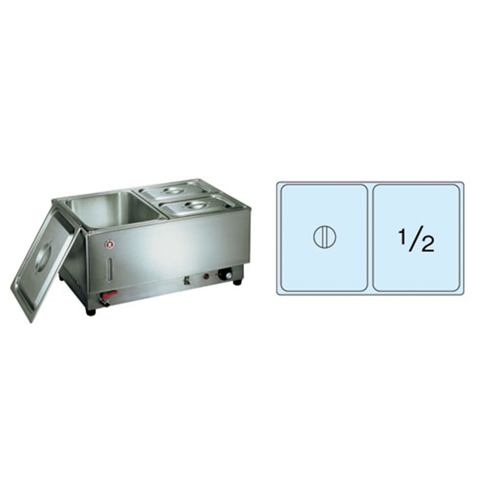 電気フードウォーマー1/1ヨコ型 KU−102Y