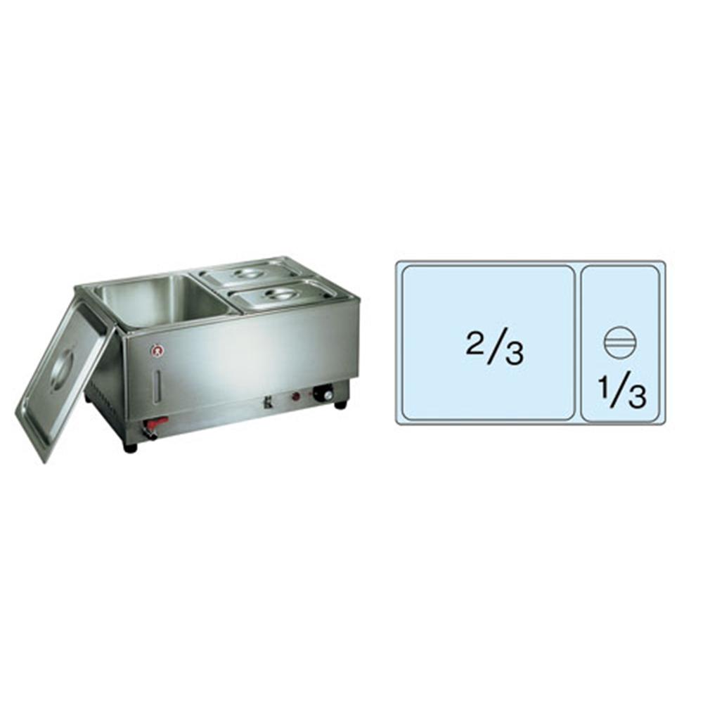 電気フードウォーマー1/1ヨコ型 KU−107Y