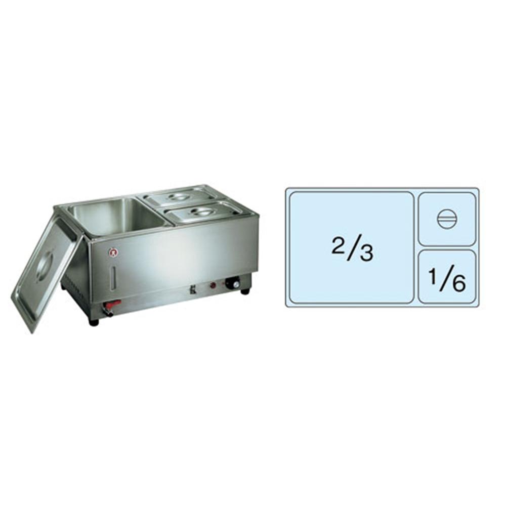 電気フードウォーマー1/1ヨコ型 KU−108Y