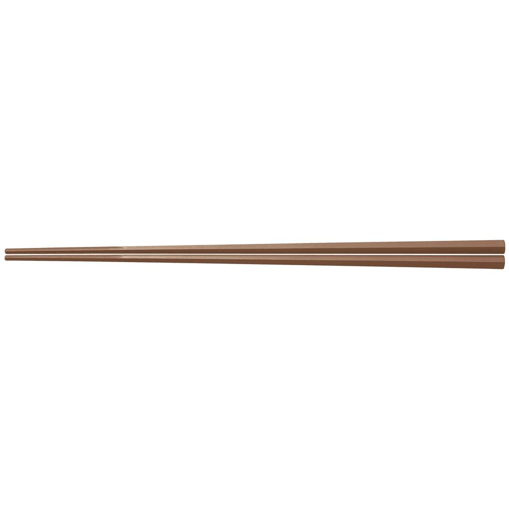 ぐる麺取り箸 茶 PM−109 30cm
