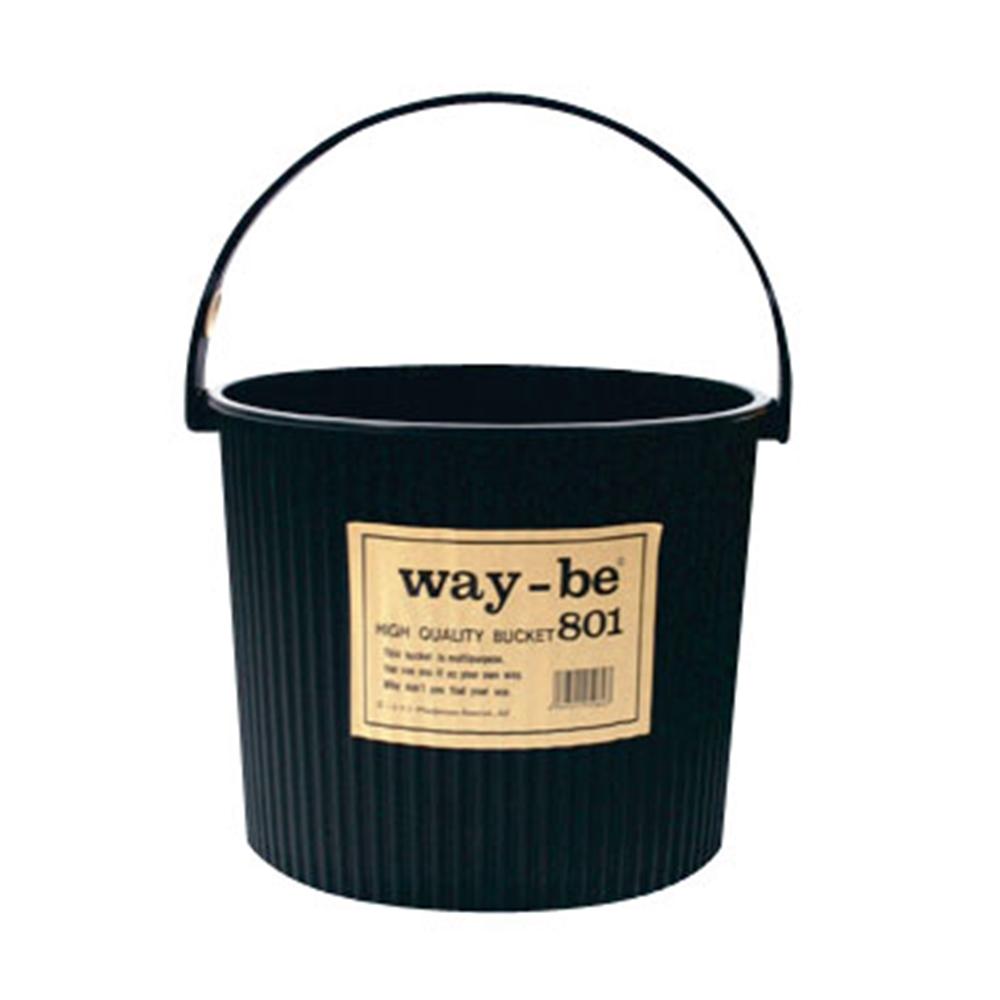 ウェイビー マルチバケツ 8L 801 本体 ブラック(BK)