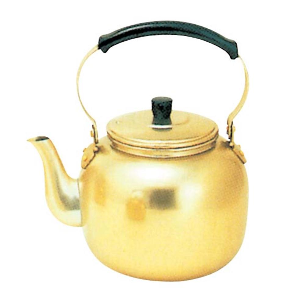 アカオ しゅう酸アルマイト湯沸 3l