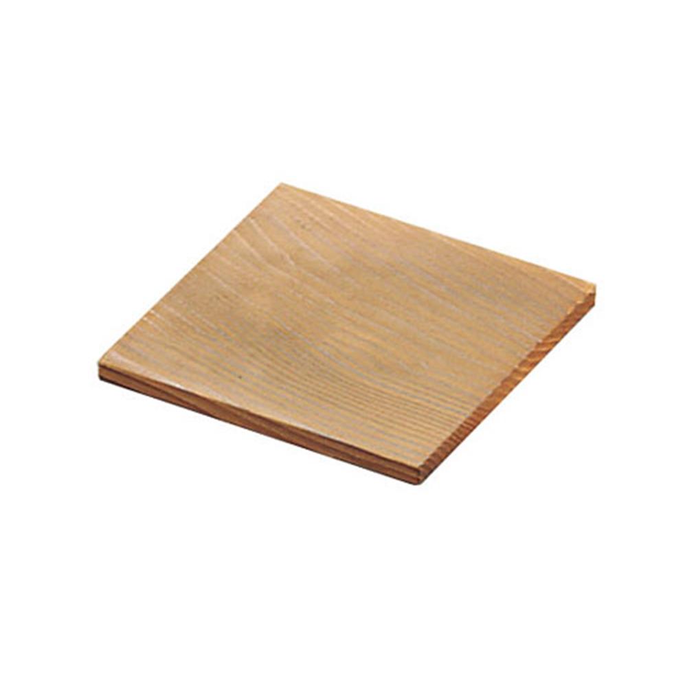 焼杉 角敷板 11cm