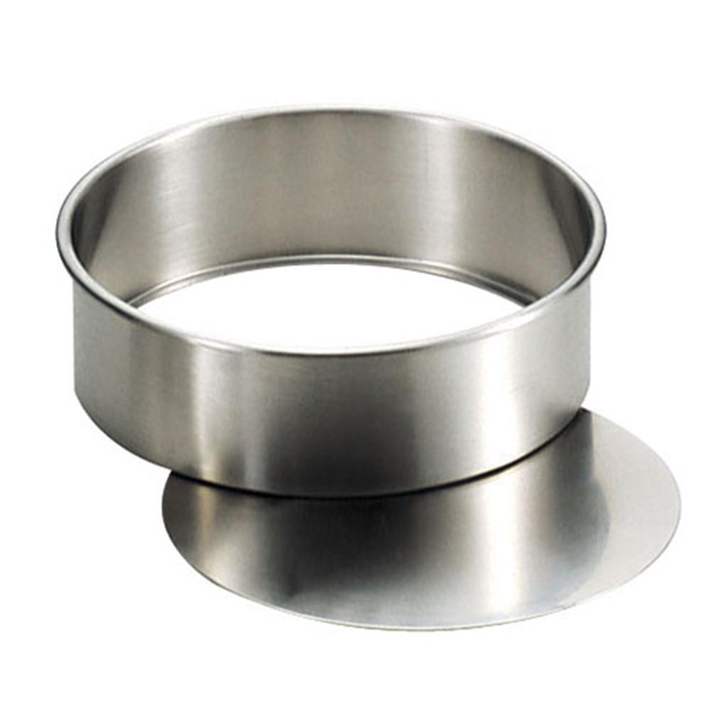 18−8ケーキ型 丸 底取型 PP−610 φ160mm