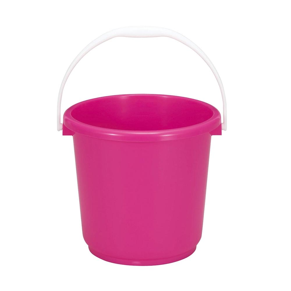 トンボ NSカラーバケツ 8 本体 ピンク