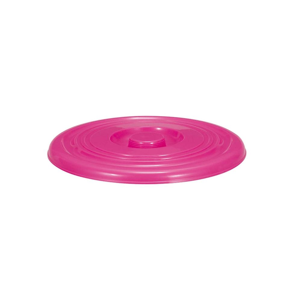 トンボ NSカラーバケツ 10 蓋 ピンク