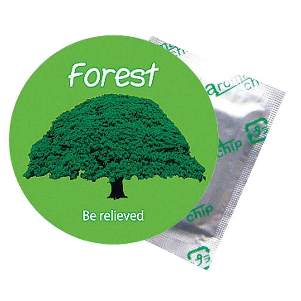 タオル蒸し器用芳香剤 アロマチップ 森の香り(小箱30個入)