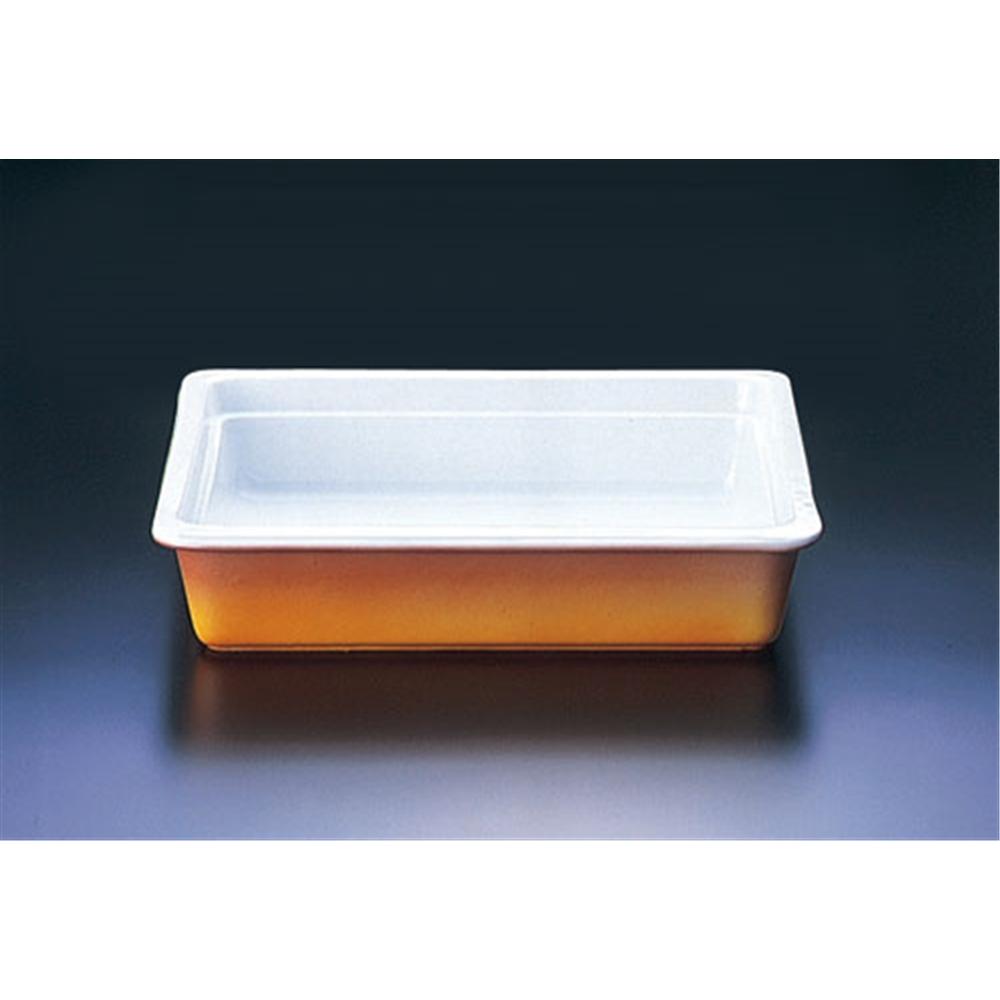 ロイヤル陶器製 角ガストロノームパン PC625−23 2/3 カラー