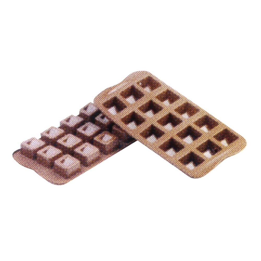 シリコマート チョコレートモルド キューボ SCG02