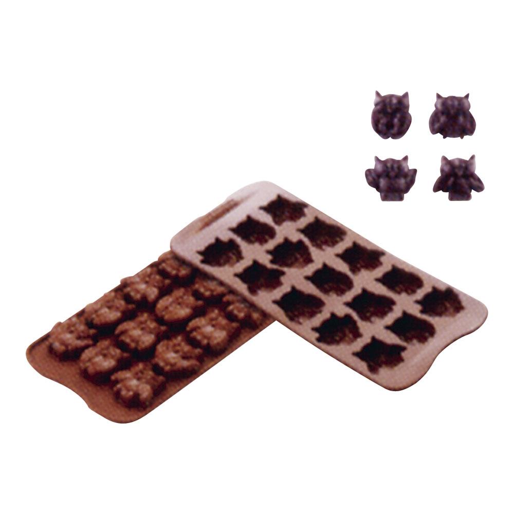 シリコマート チョコレートモルド フクロウ SCG26