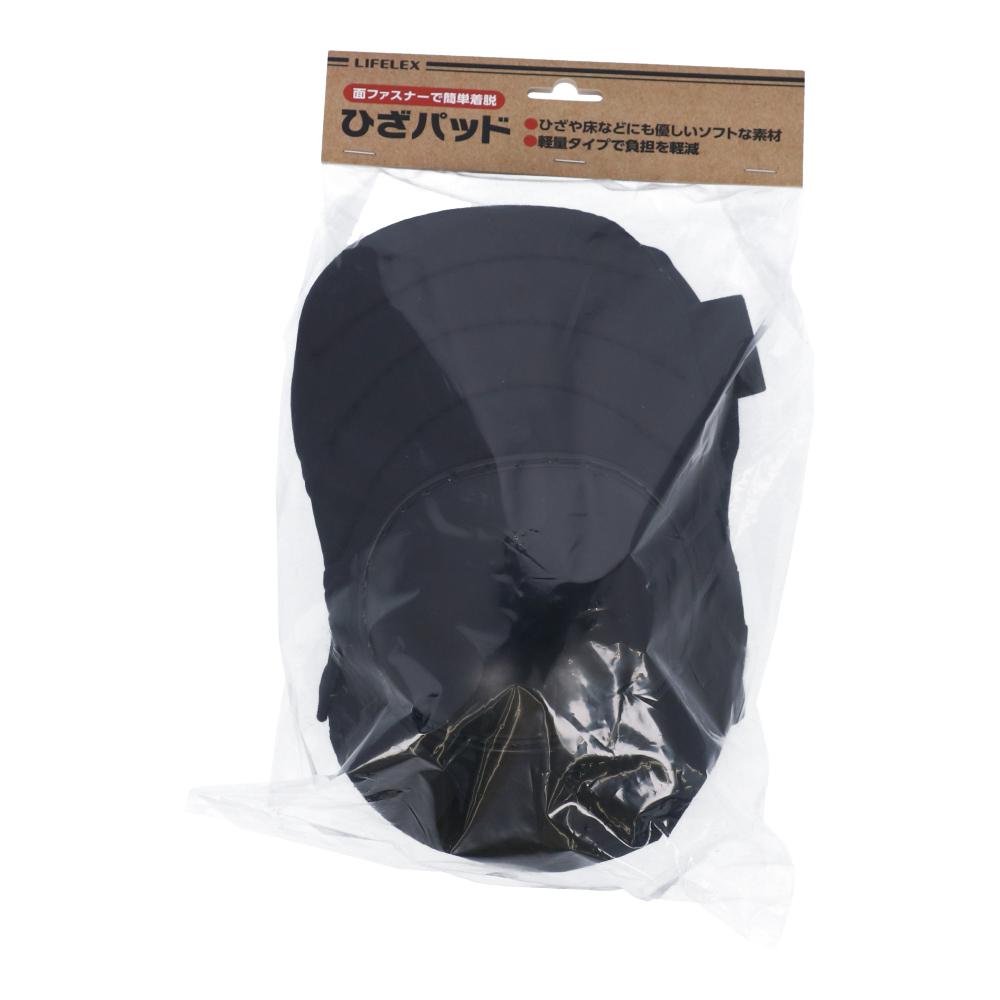 コーナン オリジナル LIFELEX ひざパッド グレー+ブラック