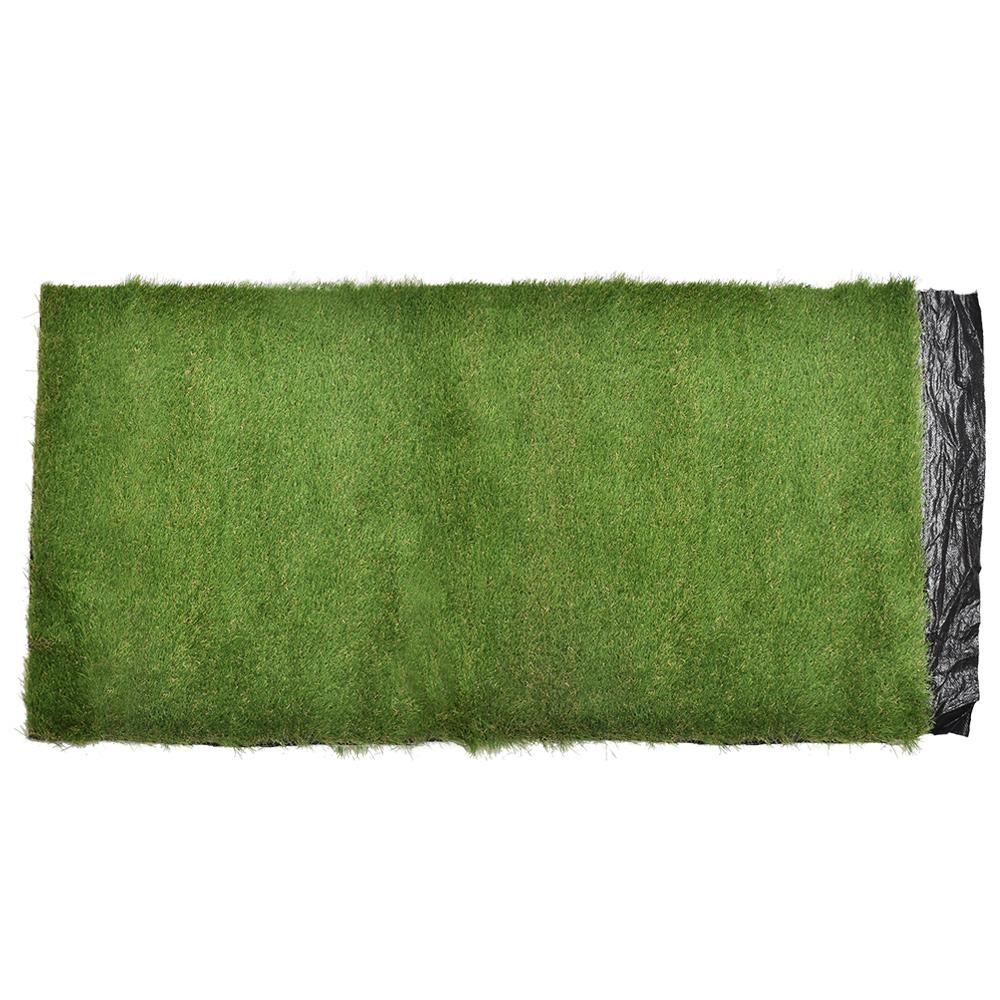 コーナン オリジナル 防草 ガーデンターフ  芝丈:約40mm  幅約:1m×10m巻き 防草シートつき 人工芝