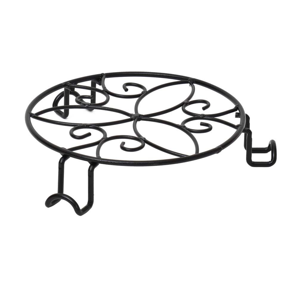 コーナン オリジナル LIFELEX 鉢受スタンド M ブラック KT09−5608