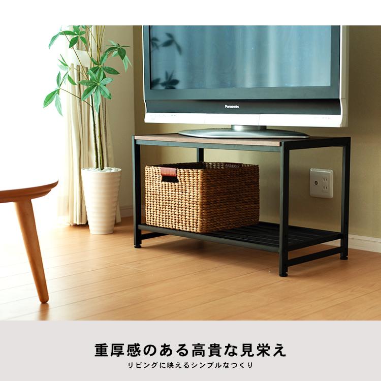 コーナン オリジナル アイアンローボード80 KMT18-6307 テレビ台 ローボード テレビボード テレビラック TV台 TVボード AVボード  テレビ台