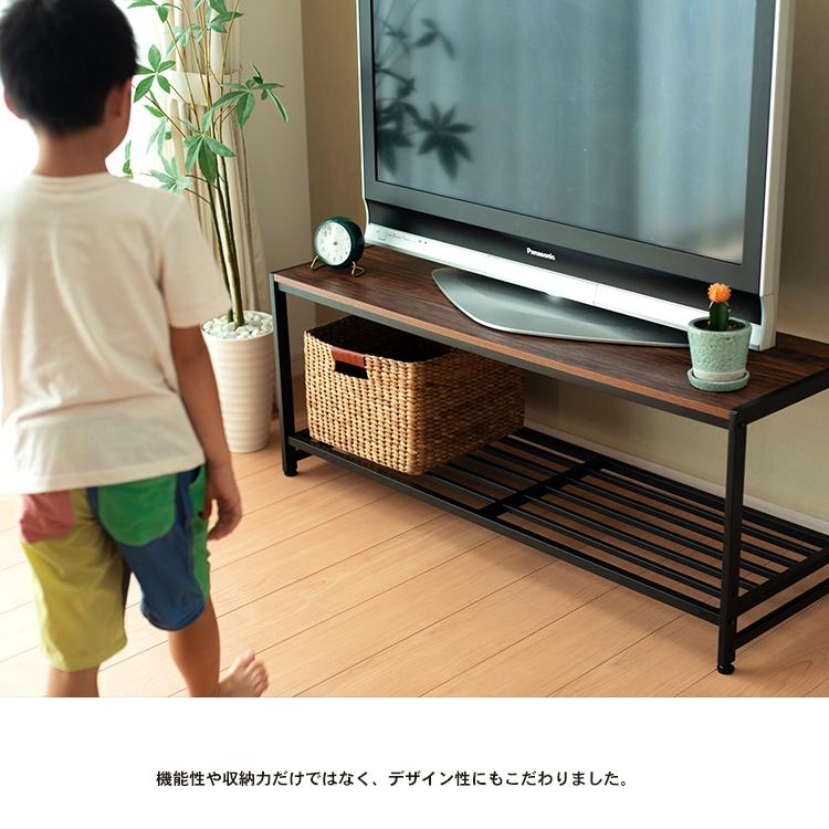 コーナン オリジナル アイアンローボード120 KMT18-6673 テレビ台 ローボード テレビボード テレビラック TV台 TVボード AVボード  テレビ台