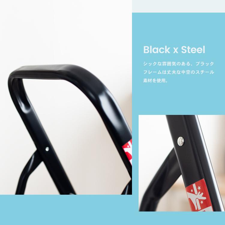 コーナン オリジナル ラクステ 3段 折りたたみ 踏台 脚立 フォールディング ステップ KLH10−5115 サイズ:約幅41×奥行77×高さ104cm